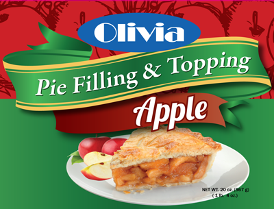 Olivia Apple Fruit Filling