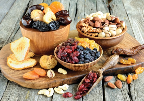 Dried Nuts and Fruits