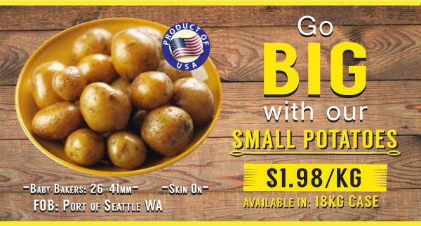 Go Big with Our Small Potatoes