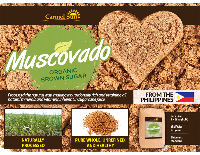 Carmel Sun Organic Muscovado Sugar
