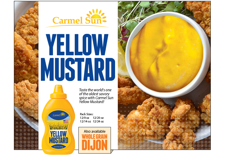 Carmel Sun Yellow Mustard