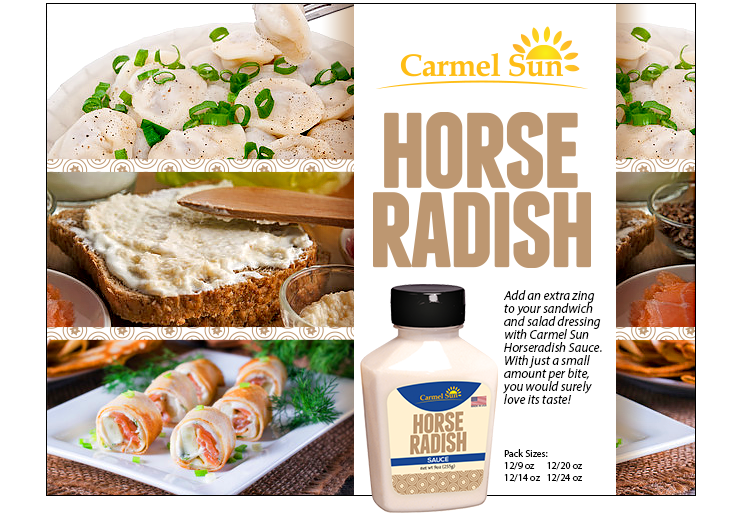 Carmel Sun Horseradish Sauce