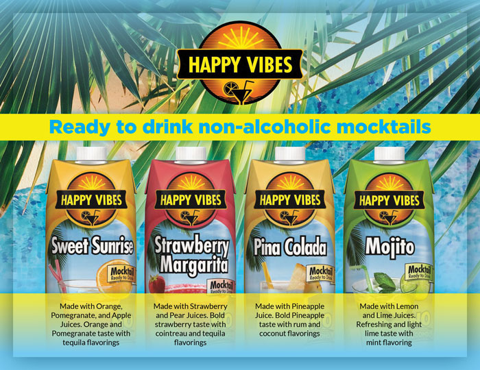 Happy Vibes Mocktails