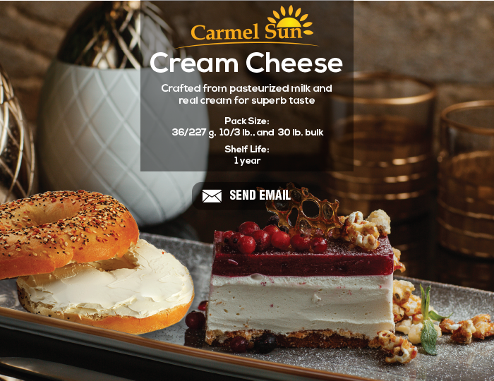 Carmel Sun Cream Cheese
